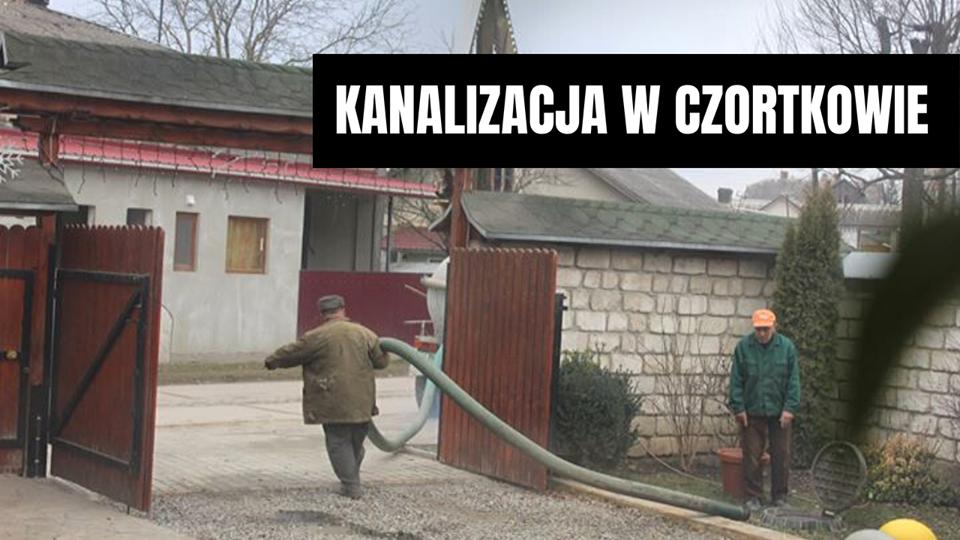Kanalizacja w Czortkowie